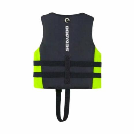 Sea-Doo Kids' Sandsea Life Jacket L (55-88 lbs) Back